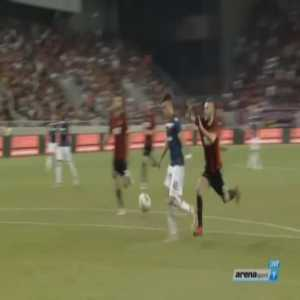 Spartak Trnava 1-[2] Red Star Belgrade [2-3 on agg.] - Nemanja Radonjic 98'