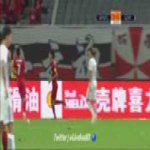 Shanghai SIPG [3]-0 Guangzhou R&F - Lu Wenjun 65'