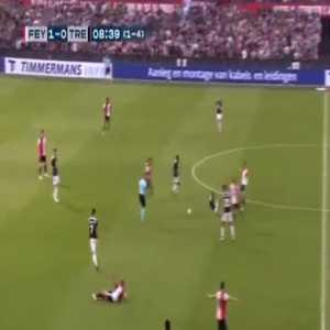 Feyenoord 1-[1] Trencin [1-4 on agg.] - Antonio Mance 9'