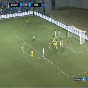Maccabi Tel Aviv [2]-1 Pyunik [2-1 on agg.] - Eliran Atar 68'