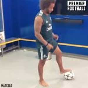 Marcelo's footwork is unreal 😳