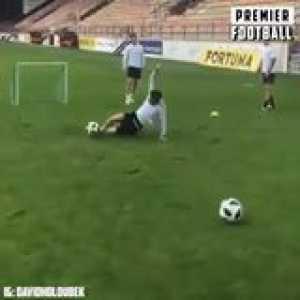 This defender training at Ruzomberok is insane 😳🏃🏻