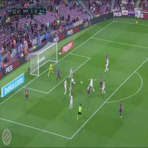 Barcelona [2]-0 Alaves : Coutinho 83'