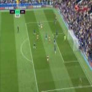 Chelsea - Arsenal (Aubameyang second miss 44')