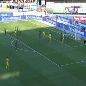 Chievo [1]-1 Juventus - Mariusz Stepinski 38'