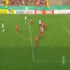 Oberhausen 0-2 Sandhausen - Felix Muller 24'