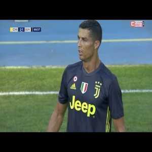 Cristiano Ronaldo vs Chievo Verona | Juventus debut