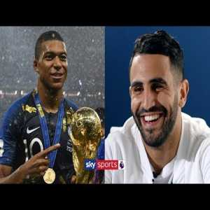 Riyad Mahrez explains why France produce more world class players than England!