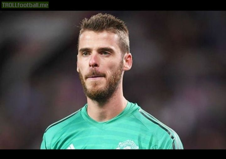 You have to feel sorry for De Gea.  He was a broken fax machine away from winning multiple Champions Leagues titles and instead he has to watch his team being outclassed by Glen Murray and Dale Stephens. 😂😂