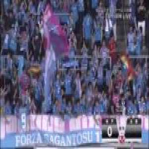 Fernando Torres scored his first goal for Sagan Tosu