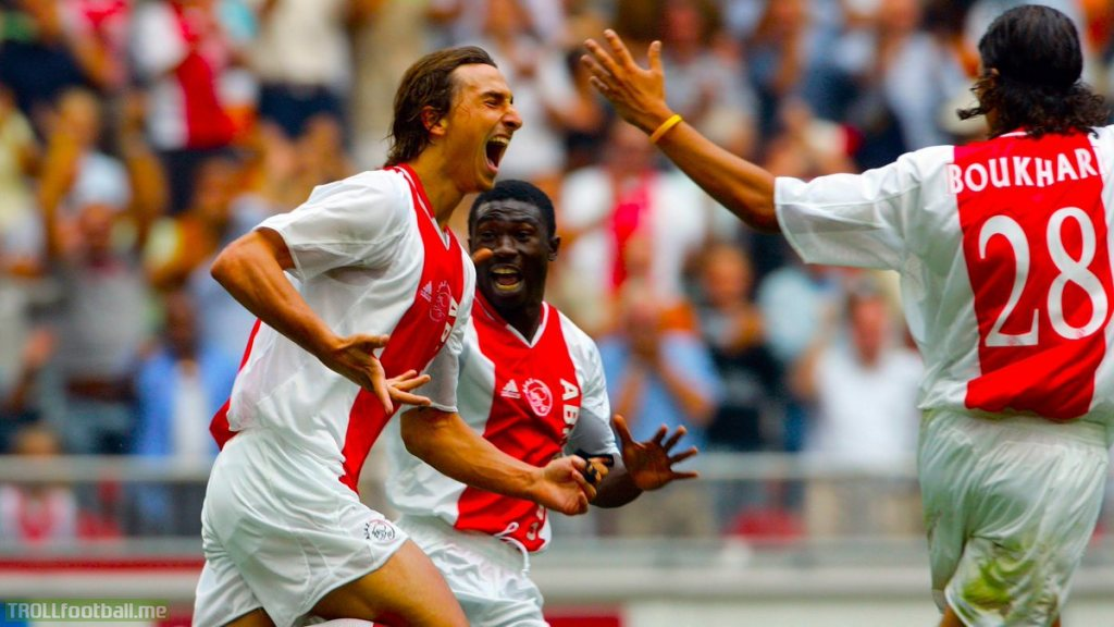 ON THIS DAY: In 2004, Zlatan Ibrahimovic scored *that* goal for Ajax against NAC Breda.