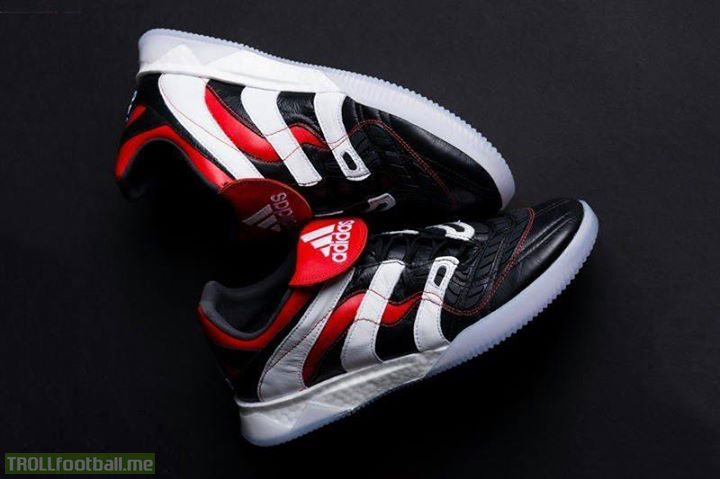 Adidas re-release the Adidas Predator Accelerator boots worn by the likes of David Beckham and Zinedine Zidane. 😍👟