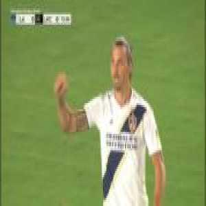 Zlatan Ibrahimovic Goal (+VAR review) - Los Angeles Galaxy [1]-0 Los Angeles FC (MLS)