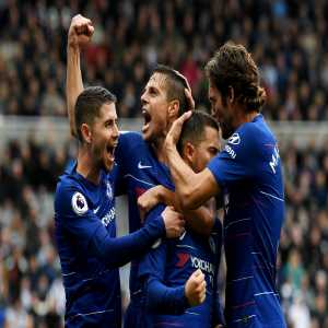 Eden Hazard's goal was his 70th for Chelsea in the Premier League - overtaking Jimmy Floyd Hasselbaink in third (69); only Frank Lampard (147) and Didier Drogba (104) have scored more for the Blues. Special.