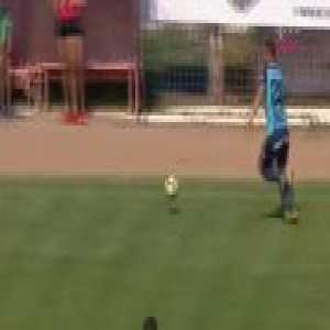 Manager sent off for tackling a player (Romanian 2nd League - Chindia Târgoviște vs. Argeș Pitești)