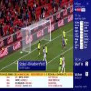 Stoke 1-0 Huddersfield - Saido Berahino 53'