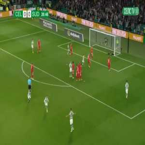 Celtic 1-0 Suduva [2-1 on agg.] - Leigh Griffiths free-kick 27'