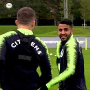 How has Riyad Mahrez done this? 😱  🎥 Manchester City