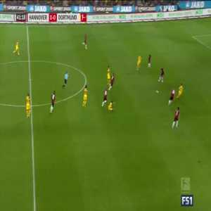 Marco Reus off the crossbar vs Hannover