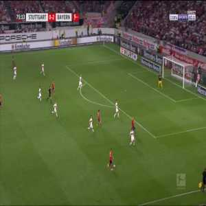 Stuttgart 0-3 Bayern - Thomas Muller 76'