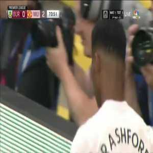 Marcus Rashford red card vs. Burnley