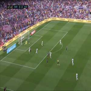 Barcelona [4]-2 Huesca - Ousmane Dembele 48'