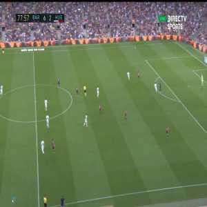 Dembélé beautiful control against Huesca