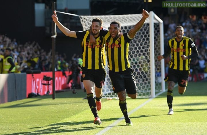 Watford come from behind to beat Spurs and extend their perfect start to FOUR matches