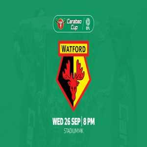Tottenham's Carabao Cup Third Round fixture against Watford will be played at Stadium MK.