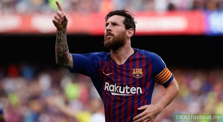 "Most goals in Europe 🥇 Messi 🥈 Salah 🥉 Kane  Most big chances created in Europe 🥇 Messi 🥈 Payet 🥉 Insigne  Most dribbles in Europe 🥇 Messi 🥈 Hazard 🥉 Neymar  Most MOTM in Europe 🥇 Messi 🥈 Thauvin 🥉 Fekir/Neymar  FIFA's ""The Best"" nominees: Modric, Salah, Cristiano."