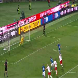 Jorginho (Penalty) goal (Italy [1]-1 Poland) 77'