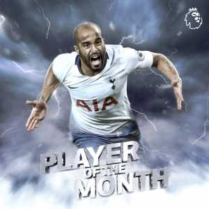 Lucas Moura wins Player of the Month for August 2018