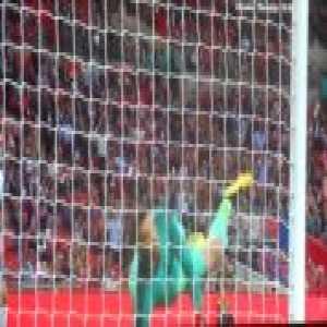 David De Gea amazing reflex save vs Marcus Rashford!