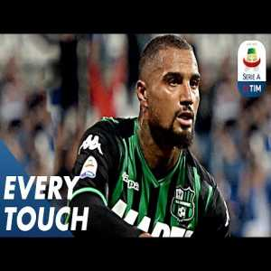 Every touch of Kevin-Prince Boateng against Genoa. A Great combination of Strength and Playmaking skills.