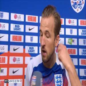 """Harry Kane: """"In those big moments you need the ref to stand strong and unfortunately he's bottled it."""""""