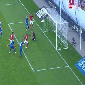 Switzerland 2-0 Iceland: Zaharia