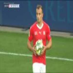 Switzerland 3-0 Iceland - Shaqiri free kick 53' [UEFA Nations League A]
