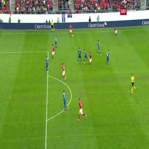 Switzerland 4-0 Iceland: Seferovic