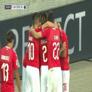 Switzerland 5-0 Iceland: Ajeti