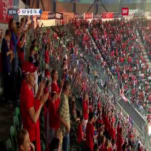 Switzerland 6-0 Iceland: Mehmedi