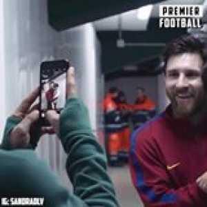 Andres Guardado's son meeting his hero Lionel Messi 🙌🏼  Prime Video
