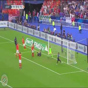 France [1]-0 Netherlands : Mbappé 14'