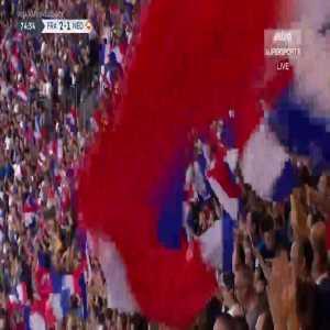 France [2]-1 Netherlands: Giroud