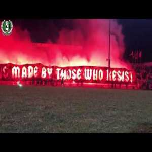 After their team was sold to an American businessman, OMONOIA supporters in Cyprus founded their own team in the lowest division. This is what happened at the first training...