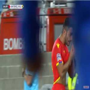 Andorra [1]-1 Kazakhstan - Jordi Alaez 85'