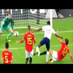 David De Gea wonderful saves: England vs Spain match