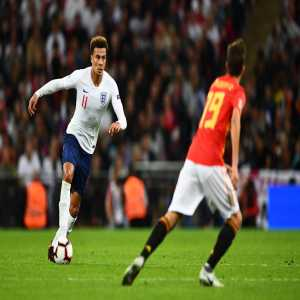 Dele Alli has withdrawn from the England squad due to a minor muscle strain picked up on Saturday.