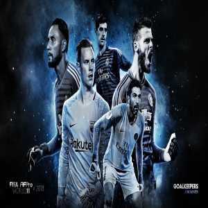Goalkeeper Nominees for the FIFPro World XI: Buffon, De Gea, Navas, Ter Stegen & Courtois