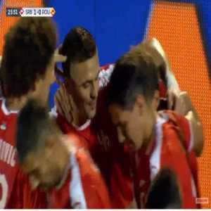 Serbia 1-0 Romania - Aleksandar Mitrovic 26'