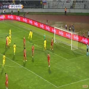Serbia 1-[1] Romania - Nicolae Stanciu penalty 48'